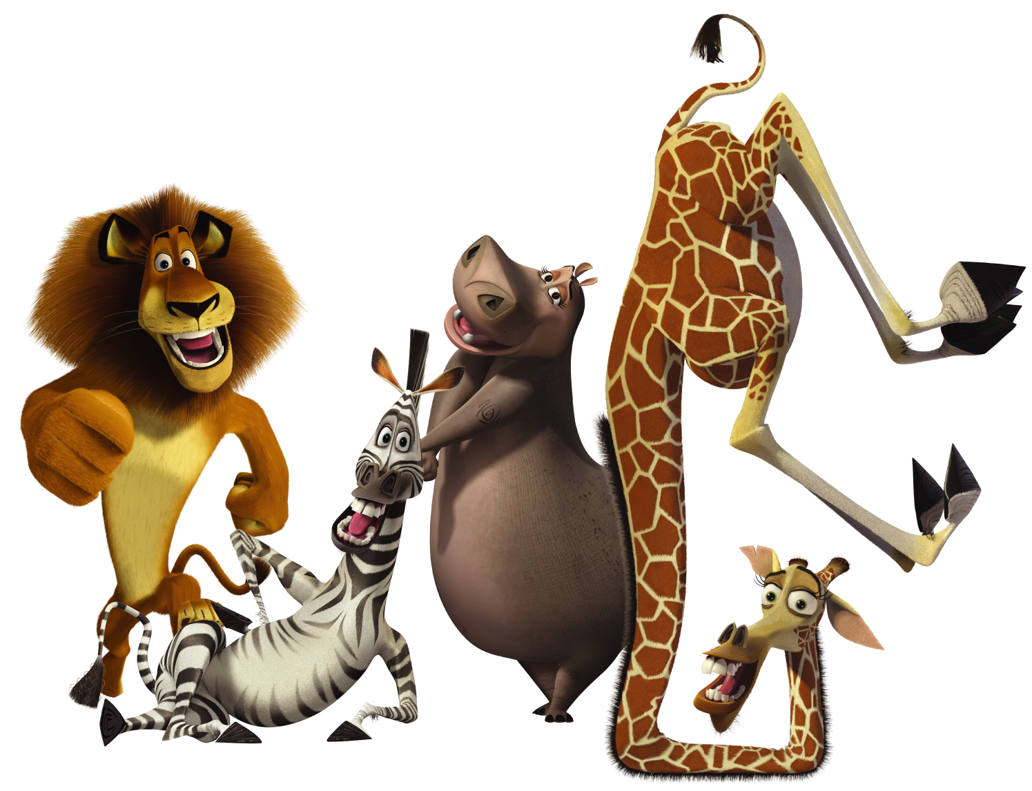 alex marty gloria melman madagascar